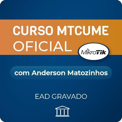Curso MTCUME com Anderson Matozinhos - GRAVADO  - Voz e Dados Academy