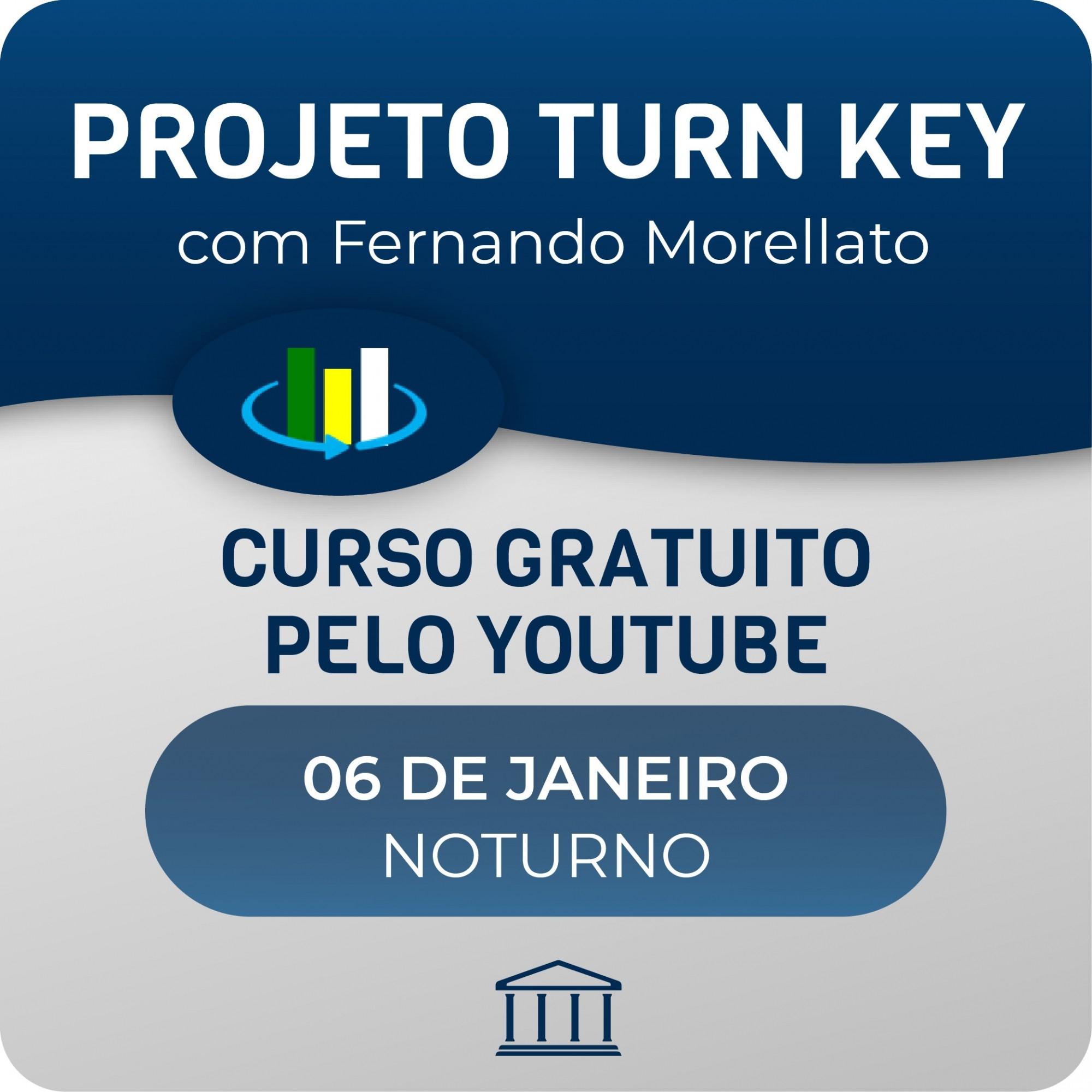 Curso Projeto Turn Key com Fernando Morellato  - Voz e Dados
