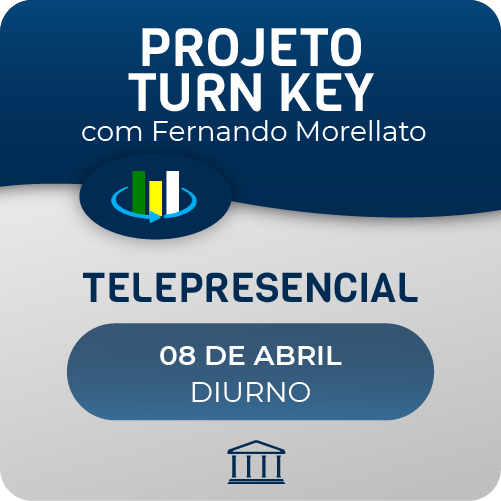Curso Projeto Turn Key com Fernando Morellato - Telepresencial  - Voz e Dados