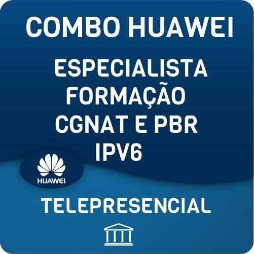 Especialização COMPLETA Huawei Especialista, Formação, PBR CGNAT & IPV6 - NOTURNO  - Voz e Dados