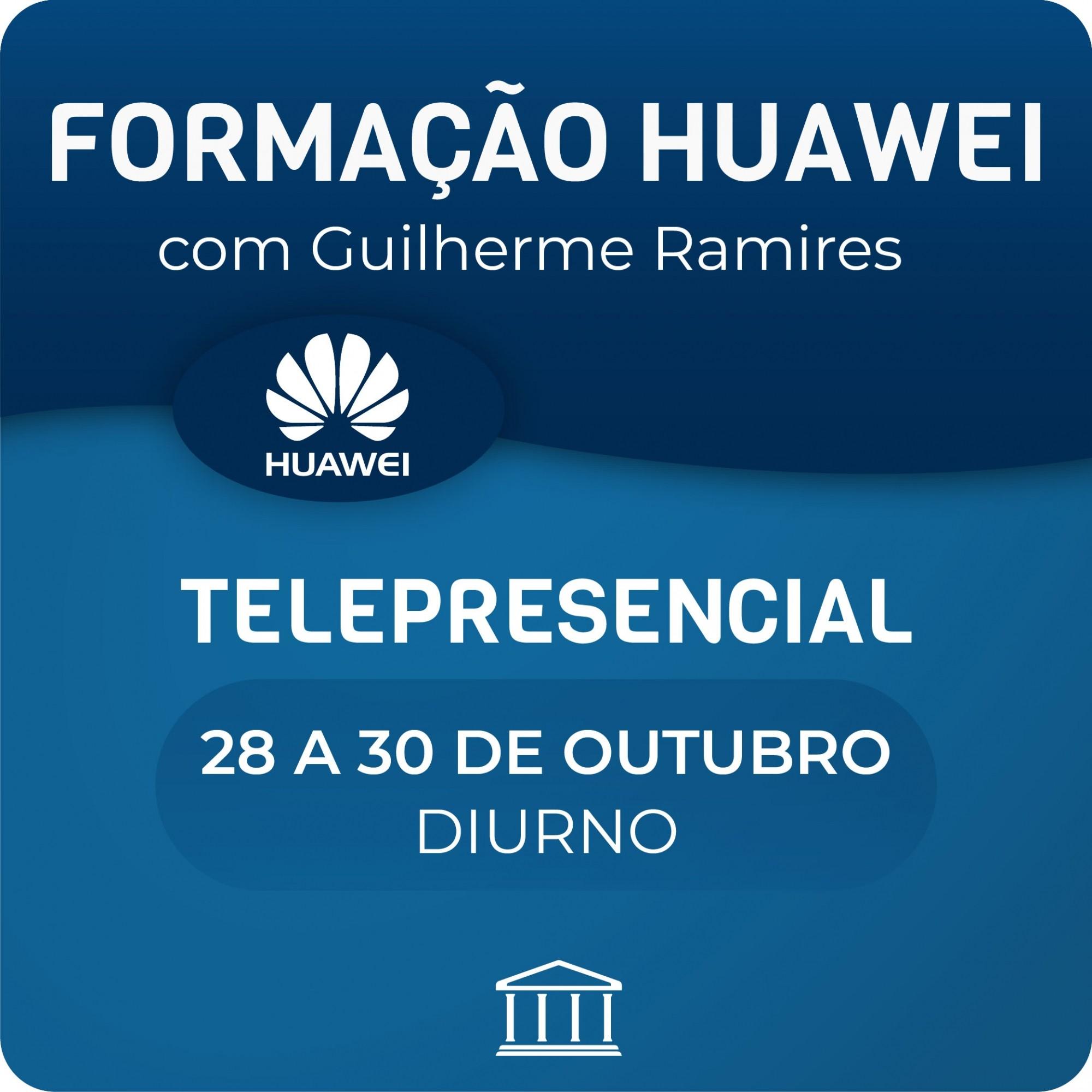Formação Huawei em Switches e Routers  - Voz e Dados