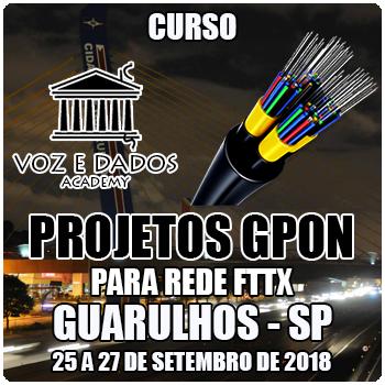 Guarulhos - SP - Projetos GPON para Redes FTTx  - Voz e Dados