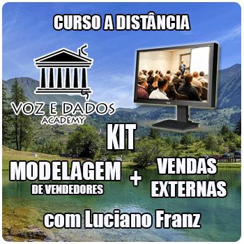 Kit - Modelagem de Vendedores + Vendas Externas  - Voz e Dados