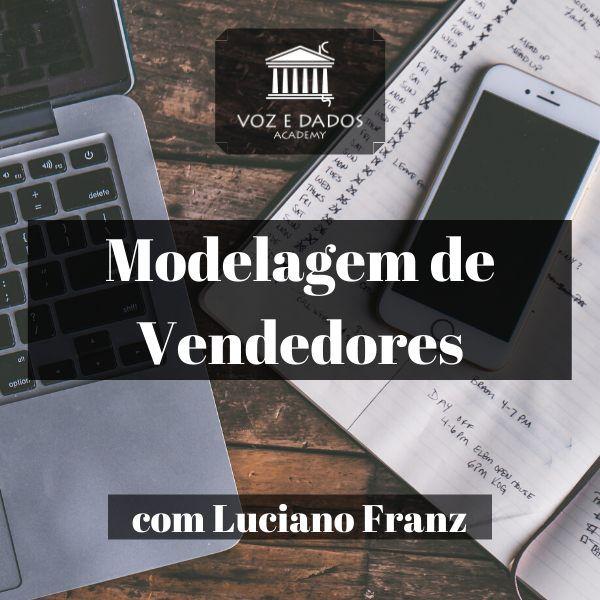 Modelagem de Vendedores - com Luciano Franz  - Voz e Dados