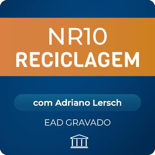 NR-10 Reciclagem com Adriano Lersch - EAD GRAVADO  - Voz e Dados Academy