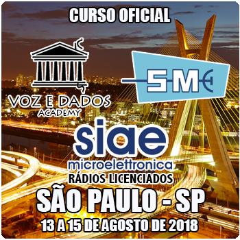 São Paulo - SP - Curso Rádios Licenciados SIAE  - Voz e Dados