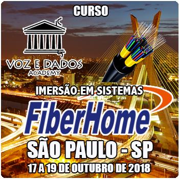 São Paulo - SP - Imersão em Sistemas FiberHome  - Voz e Dados