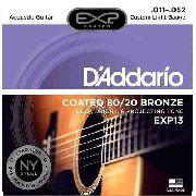 Encordoamento D'addario Violão Aço EXP13  011-052