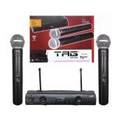 Microfone Sem Fio Duplo Tag Sound Tagima TM559B