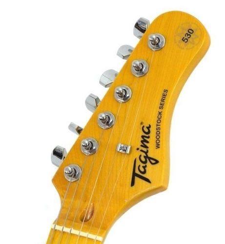 GUITARRA TAGIMA WOODSTOCK STRATO TG 530 SG