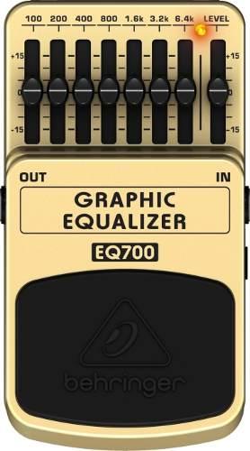 Pedal Behringer Equalizer Guitarra  DR600