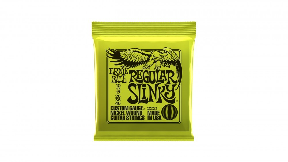 Encordoamento para Guitarra Ernie Ball 010
