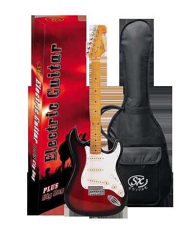 Guitarra SX Strato SST57 2TS