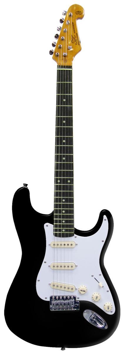 Guitarra SX Strato SST62 BK