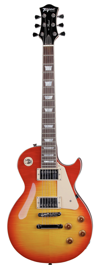 Guitarra Tagima Les Paul TLP Flamed CS com case