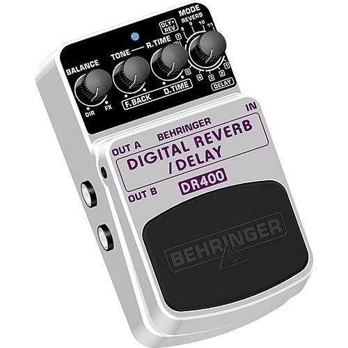 Pedal Behringer Digital Reverb Delay DR400