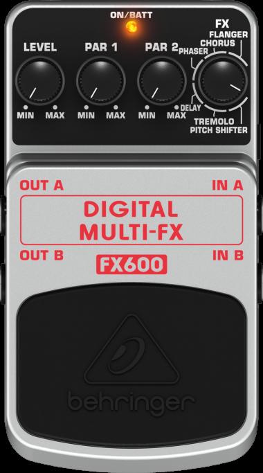 Pedal Behringer Fx 600 Digital Multi Fx