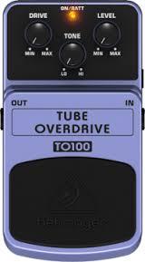 Pedal Behringer  TO100 Tube Overdrive