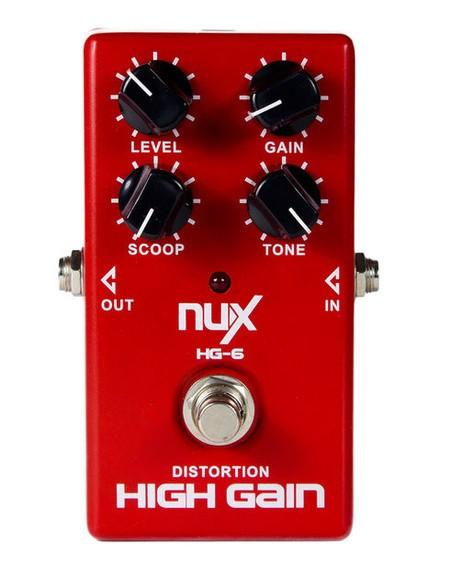Pedal Nux HG6 High Gain