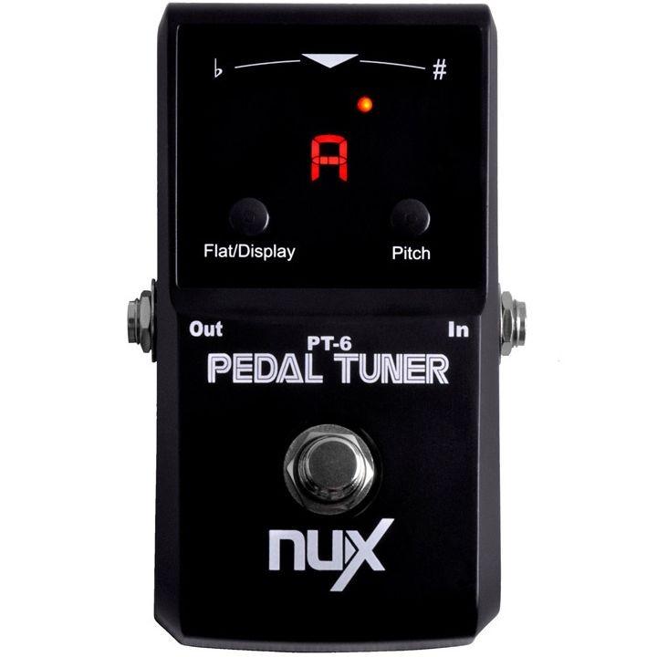 Pedal Nux PT6 Afinador