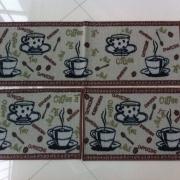 TAPETE PASSANTE COZINHA  COFFE 0,40 X 1,18CM