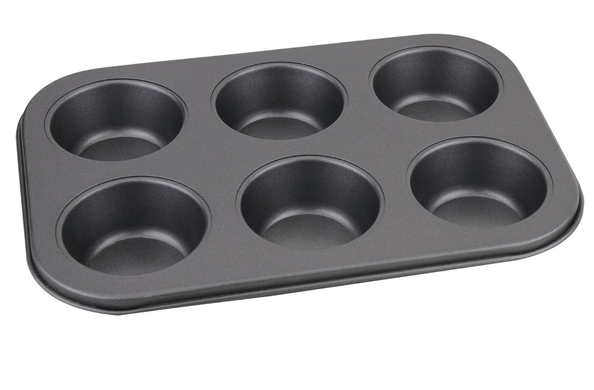 Forma Cupcake Antiaderente 6 Cav Muffin Petit Gateau Bolo
