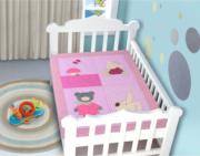 Edredom Bebê 1,16m x 0,87m Mamãe Urso