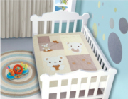 Edredom Bebê 1,16m x 0,87m Urso