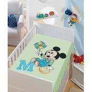 Manta Microfibra Infantil 0,80m x 1,10m Mickey Catavento Disney