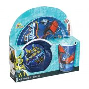 Kit Refeiçao # pçs Transformers
