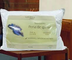 Travesseiro Pena de Ganso 70x50cm