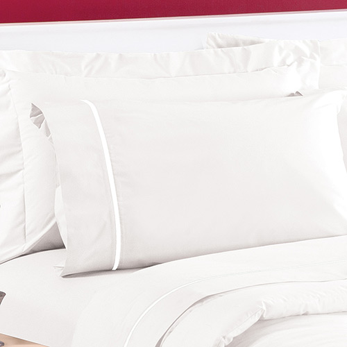 Lençol King c/ elastico 100% algodao Malha Branco 1,93x2,03x40cm