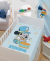 Manta Microfibra Infantil 0,80m x 1,10m Mickey Roll Up Disney