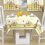 Toalha de mesa 1,45x1,40 Cesta de Frutas