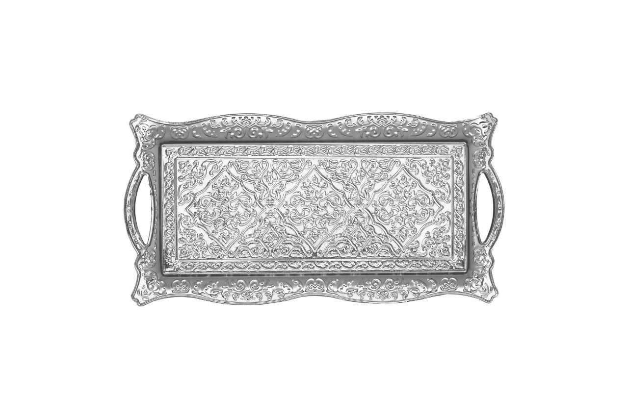 Bandeja Retangular  Decoração 34x17cm Metal