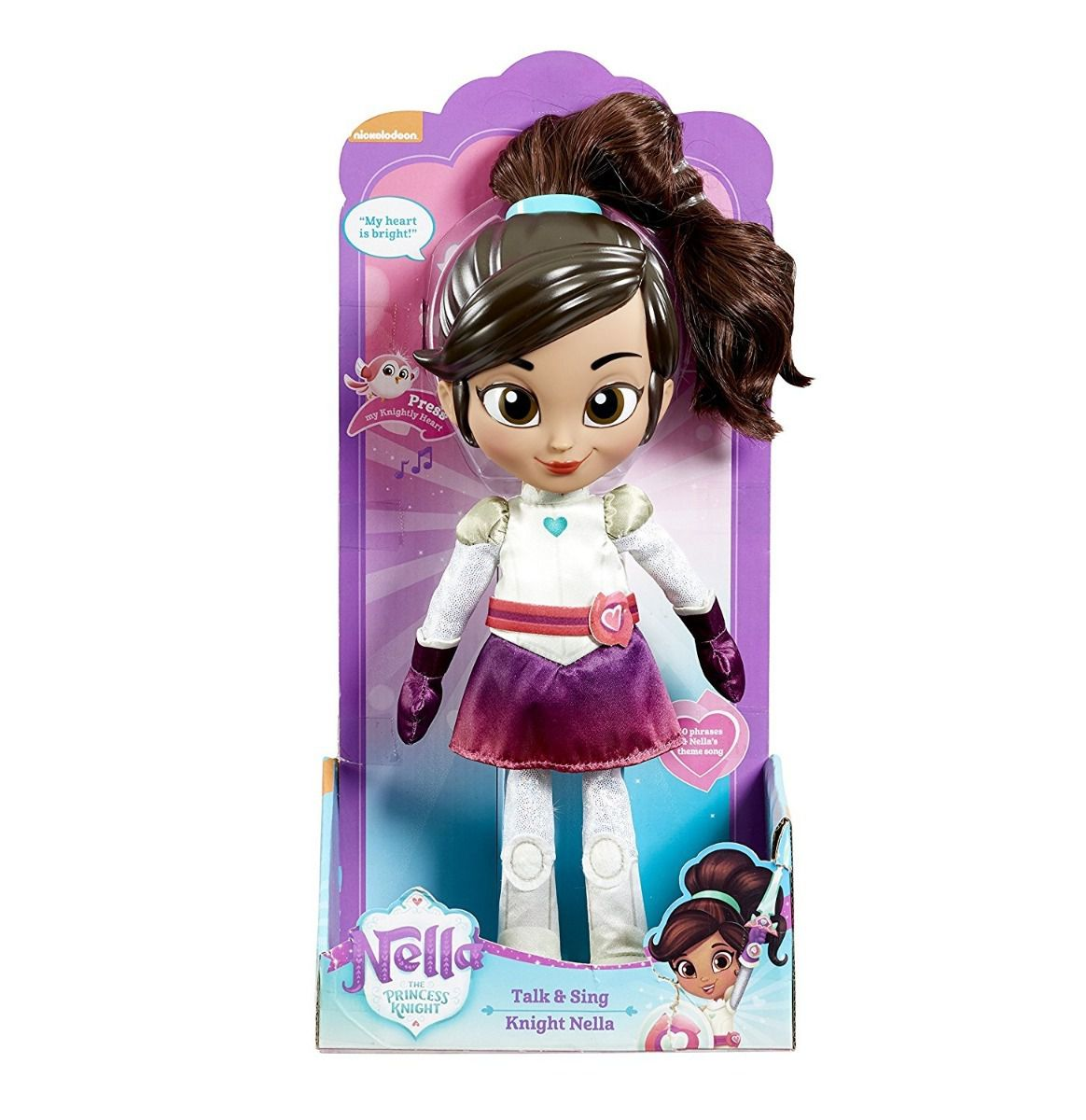 Boneca Princesa Nella Fala e Canta