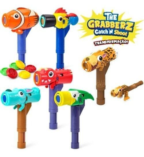 Brinquedo The Grabberz Martelo e Atirador