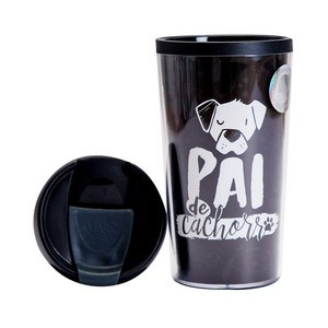 Caneca Termica 200ml  Pai De Cachorro