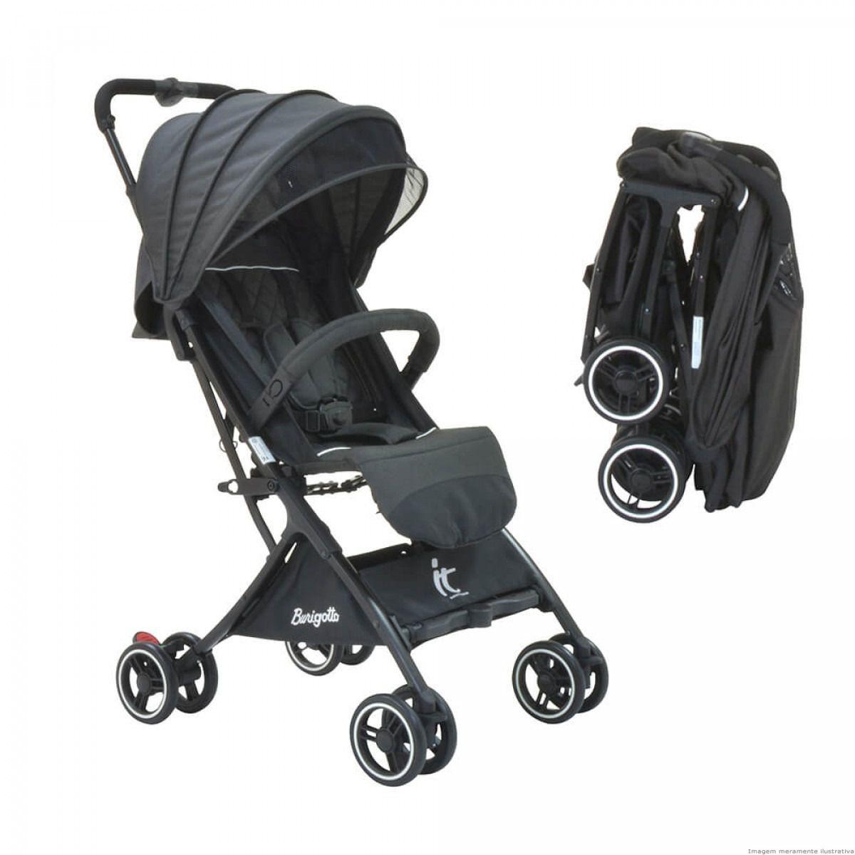 Carrinho de Bebê It - Leve e Extremamente Compacto Burigotto