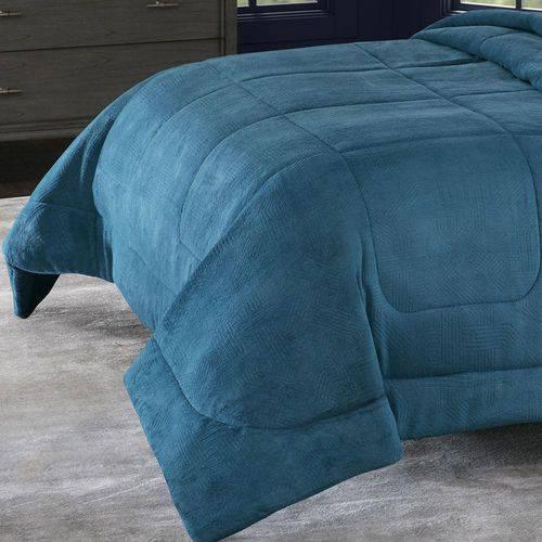 Cobertor Alaska King Arquimedes Azul Adriático  Home Design