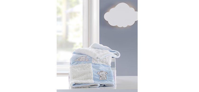 Cobertor Bordado Patchwork
