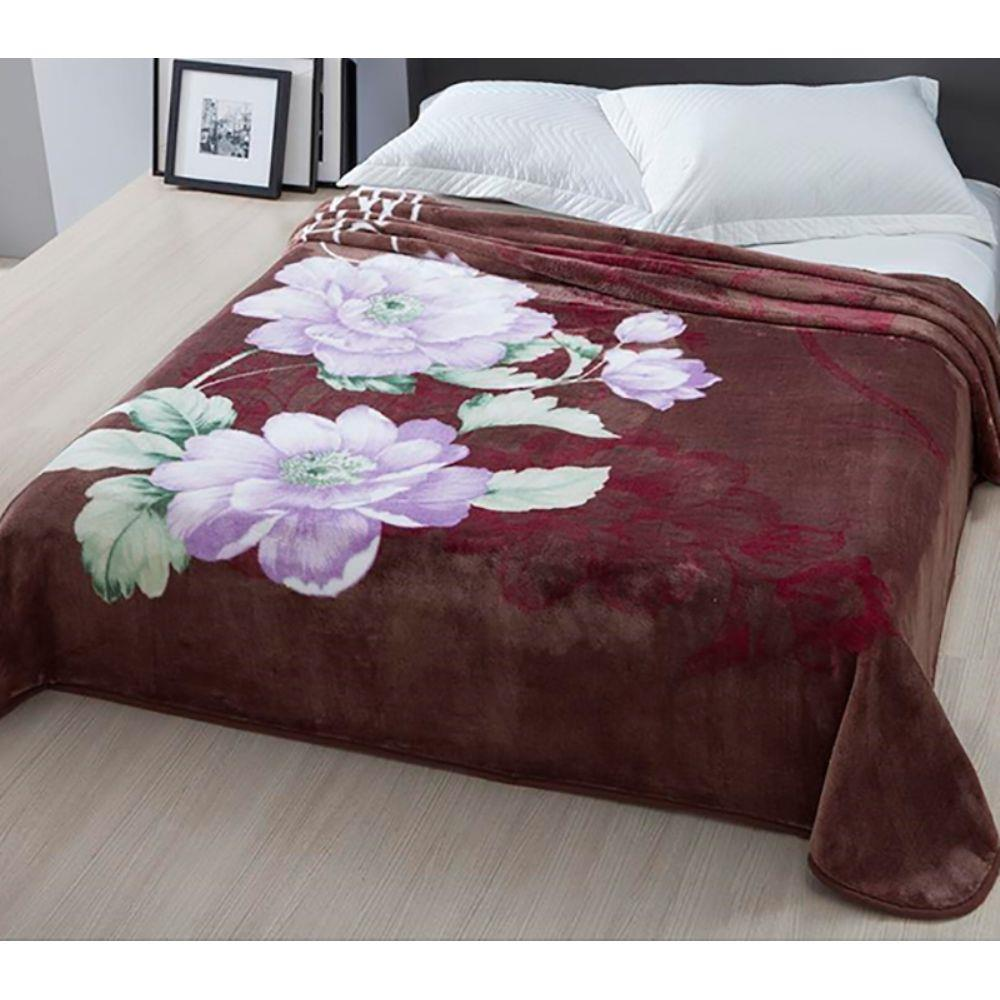 Cobertor Casal Corttex Home Design Raschel Bergámo