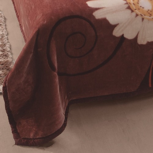Cobertor Casal Raschel Caster 1,80x2,20
