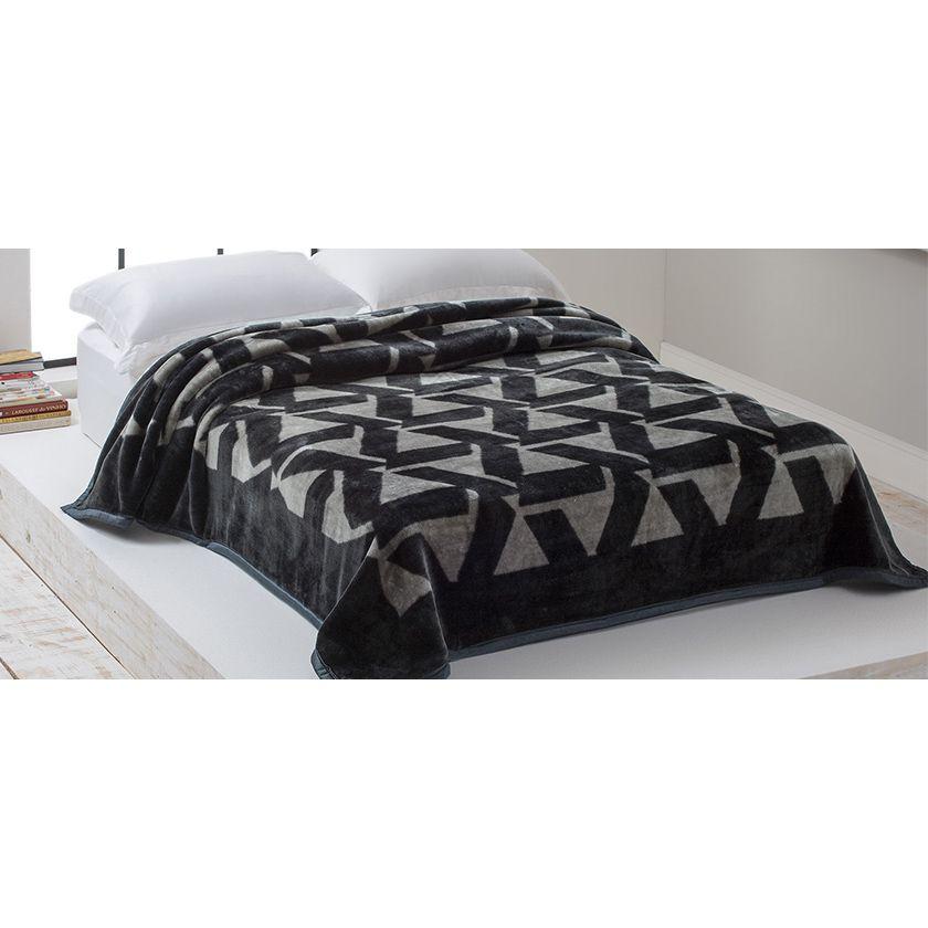 Cobertor Raschel Home Design Casal 1,80m x 2,20 Gregorio
