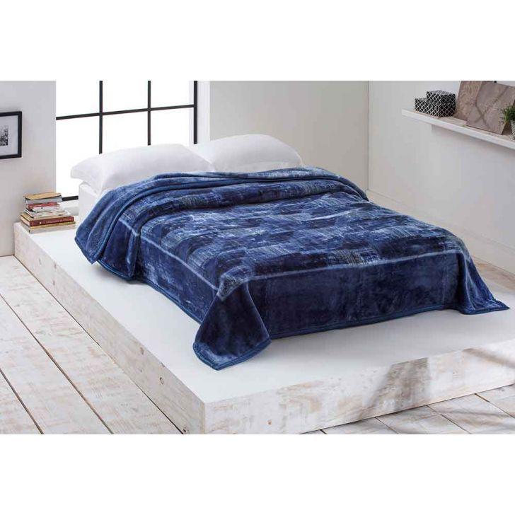 Cobertor Raschel Home Design Casal 1,80m x 2,20 Triton