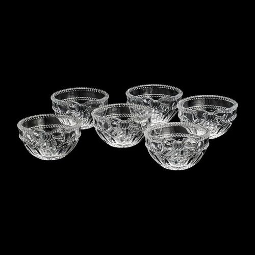 Conjunto de 6 Bowls de Cristal Royal Wolff