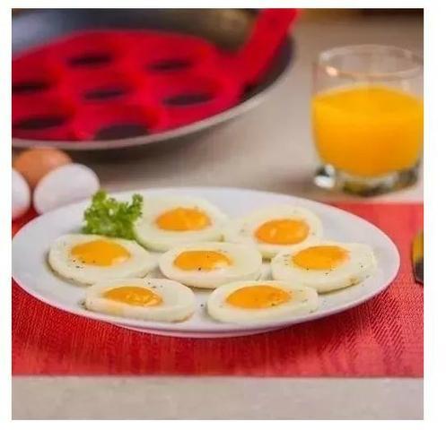 Forma de Silicone Antiaderente Flippin para Panquecas e Ovos