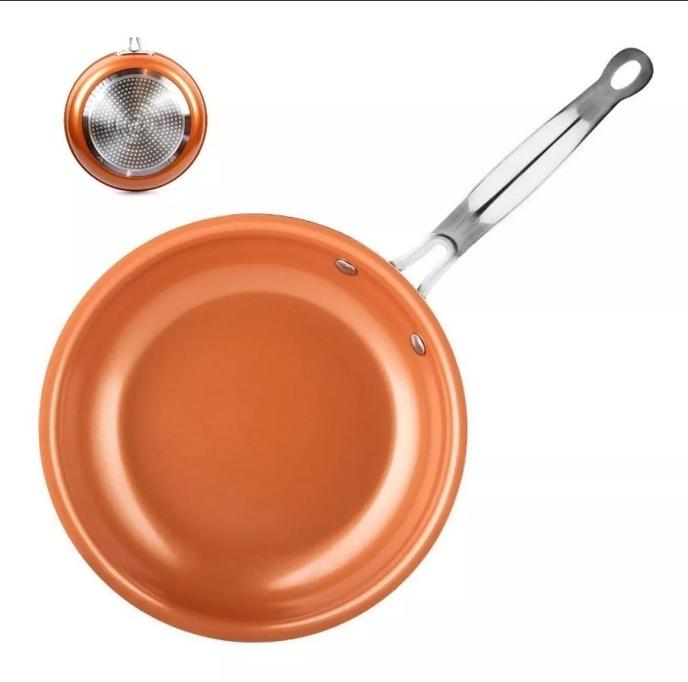 Frigideira Cerâmica e Titanio  Antiaderente 24 Cm Maxchef