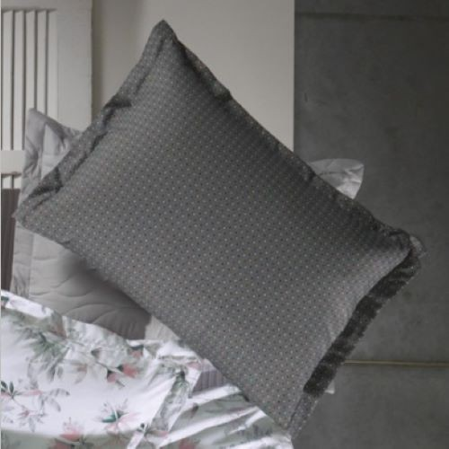 Fronha Avulsa All Design Mini Poá  com Abas 50x90cm King