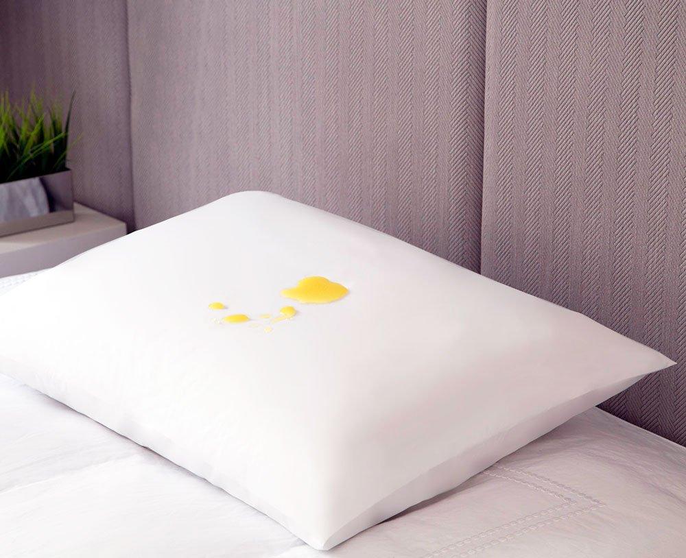 Fronha Travesseiro Impermeável Jolitex 50cm X 70cm Branco